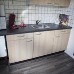 Keuken met toebehoren