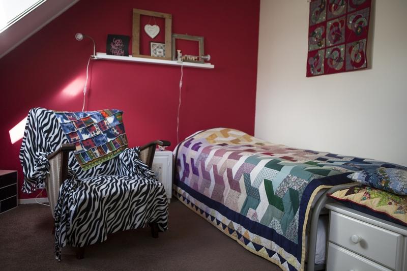 Kamer 2 met eenpersoonsbed