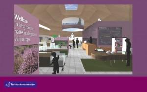 Afbeelding nieuwe expositie bezoekerscentrum